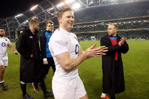 England's Chris Ashton.