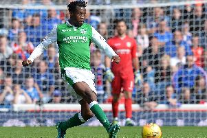 Efe Ambrose was most recently with Hibs in Scotland.