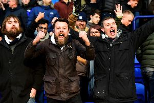 PNE fans saw their side win for the third away game in a row