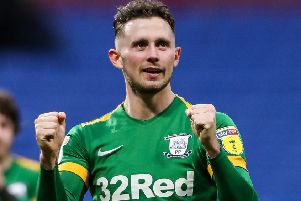 Alan Browne is Preston's leading scorer with 11 goals