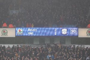 Preston fans saw their side score a last-minute equaliser at Blackburn two years ago