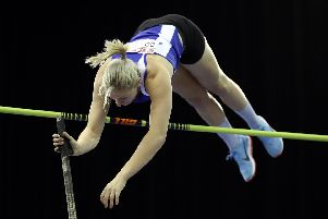 Holly Bradshaw goes clear at 4.80m