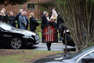 Funeral of Nigel Saddington