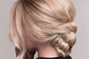 A lovely and flattering updo by Rush Hair York but easy to achieve at home too.