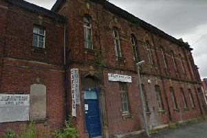 The warehouse space, formerly St Marys School, in St Marys Street could be converted into a block of flats