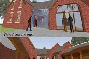 An artist's impression of how the revitalised Coach House might look