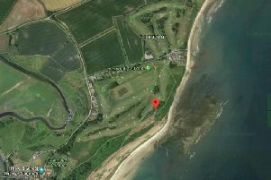 The location of Link End Caravan Park at Alnmouth. Picture from Google