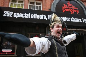 Words like peasant have caused offence to some customers at Blackpool Tower Dungeon