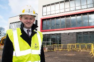 The Post was shown around the complex by Deputy Leader of Chorley Council, Coun Peter Wilson