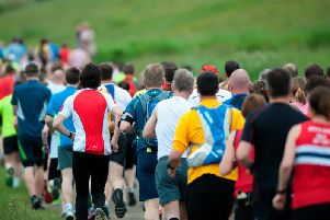 Durham Coast Half Marathon runners, picture by northeastwildlife