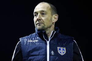 Guiseley joint manager Russ O'Neill.
