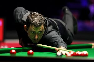 Ronnie O'Sullivan will be in action in Preston