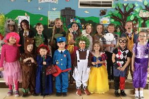 World Book Day at Broomhill First School.