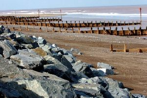 The beach at Withernsea