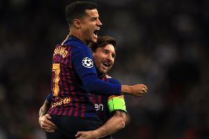 Manchester United have been contacted by Barcelona over the possibility of signing Brazilian midfielder Philippe Coutinho.