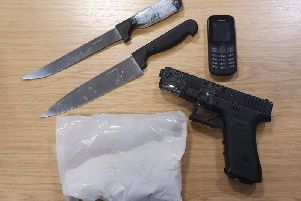 More knifes and drug paraphernalia has been seized by Preston police.