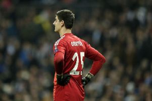 Real Madrid goalkeeper Thibaut Courtois has rejected a possible move to Manchester United as part of a deal involving David de Gea heading the other way.