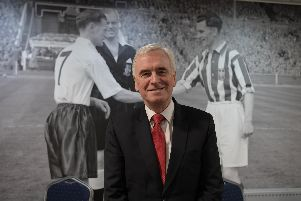 John McDonnell at Deepdale for the meeting