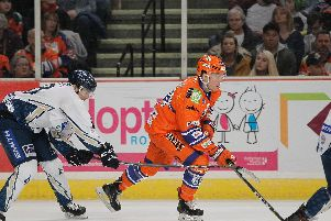 Eric Neiley takes on MKL. Pic by Hayley Roberts