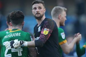 Preston goalkeeper Declan Rudd is ready to make a push for the play-offs