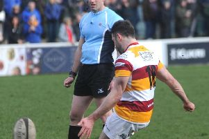 Greg Smith's goalkicking won the reverse fixture but he couldn't repeat the feat at Wharfedale