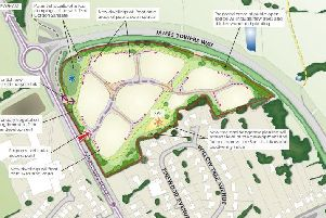 A scheme for 95 new homes in Broughton is tipped to be rejected.