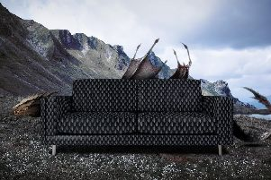 The dragon sofa