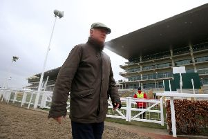 Trainer Willie Mullins.