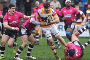Nick Ashcroft scored two tries for Fylde at Huddersfield