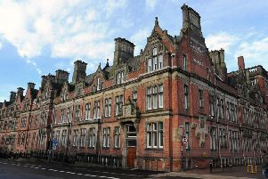 County Hall, Preston, where 13 council officers received a total remuneration of more than 100,000