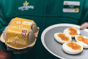 Double yolk eggs are usually a rarity, but Morrisons has launched packs of double yolk eggs - just in time for the Easter period.