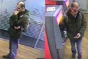 The wanted man has handed himself into Chorley Police Station following a Lancashire Police appeal. Pic - Lancashire Police