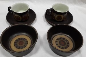 These are good examples of Denby Arabesque