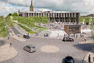 An Artist impression of the proposed Adelphi Square