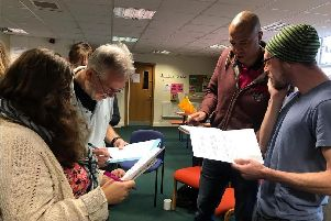 Attendees at a recent workshop