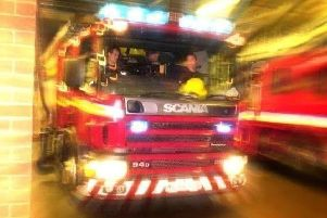 Firefighters have been called out to a water-based rescue in the Avenham area of Preston