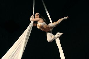 Part of the circus show that's heading to Preston