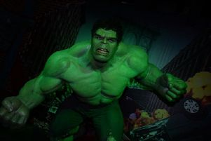 Marvel superhero Hulk
