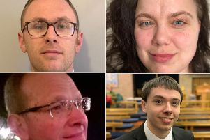 Clockwise from top left, Michael Butler, Anna Debska, Christopher Marshall and Peter Walton.