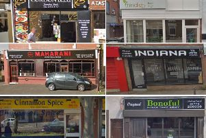Some of the best Indian restaurants in and around Preston according to Tripadvisor with their FSA star ratings