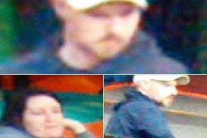 Do you recognise this pair? Police want to identify them in relation to a theft at Mini Magees play centre in Preston on Tuesday, April 9.