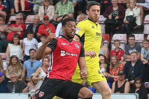 Vadaine Oliver is one of five players to be released by Morecambe