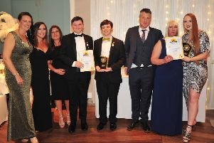 Joint Winners, Team Reece and Shine for Sian for the Charity Fundraiser Award at the Sunshine Awards 2019