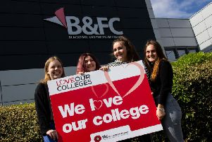 B&FC are celebrating National Colleges Week