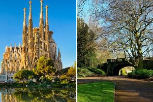 Wigan is currently basking in bright sunshine and warmer temperatures, with this week set to see the mercury rise to temperatures hotter than those in Barcelona.