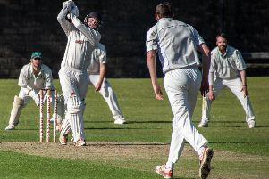 Garstang's Michael Wellings made 30 not out'                                   Picture: Tim Gilbert/Preston Photographic Society