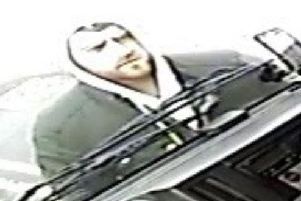 Police want to speak to this man in connection with a theft.