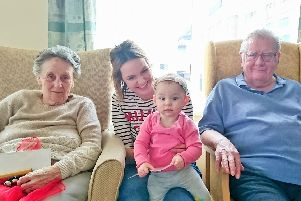A Nippers and Nappers session at Rose House Residential Home in Armthorpe