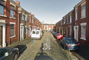 Fire crews attended a blaze at a home in Suffolk Road, Preston at 8.34am on Sunday, May 19.