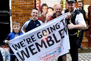 Thousands of Sunderland fans descended on London for the play-off final, with many of them heading to the centre of the city for Trafalgar Takeover 2.